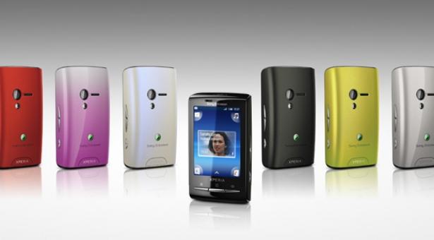 La plus petite campagne pour le plus petit des Smartphones : Sony Ericson X10 mini !