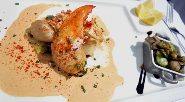 Restaurant Le bouchon Lustre à Lyon, la belle surprise !