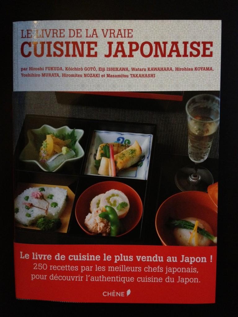 le livre de la vraie cuisine japonaise geeky and girly. Black Bedroom Furniture Sets. Home Design Ideas