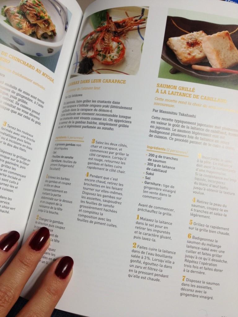 Le livre de la vraie cuisine japonaise geeky and girly for La cuisine x le creuset
