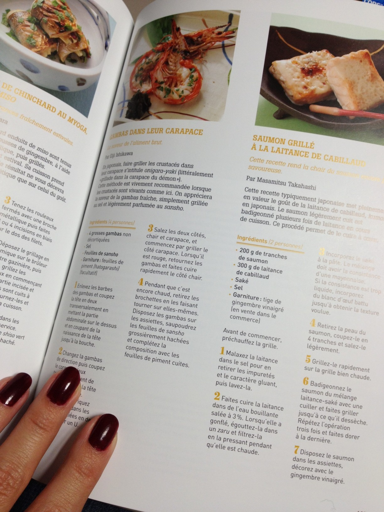 Recette geeky and girly for Livre cuisine japonaise