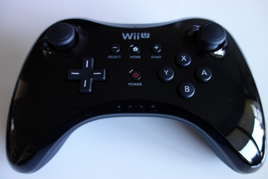 manette wii u pro controller geeky and girly. Black Bedroom Furniture Sets. Home Design Ideas