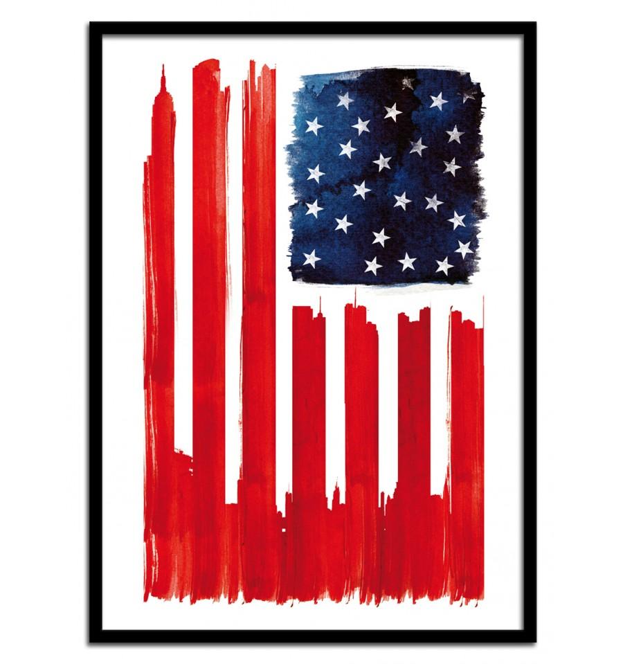 drapeau-américain-revisité