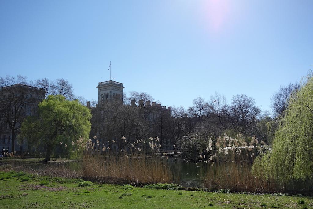 St Jame's Londres vue