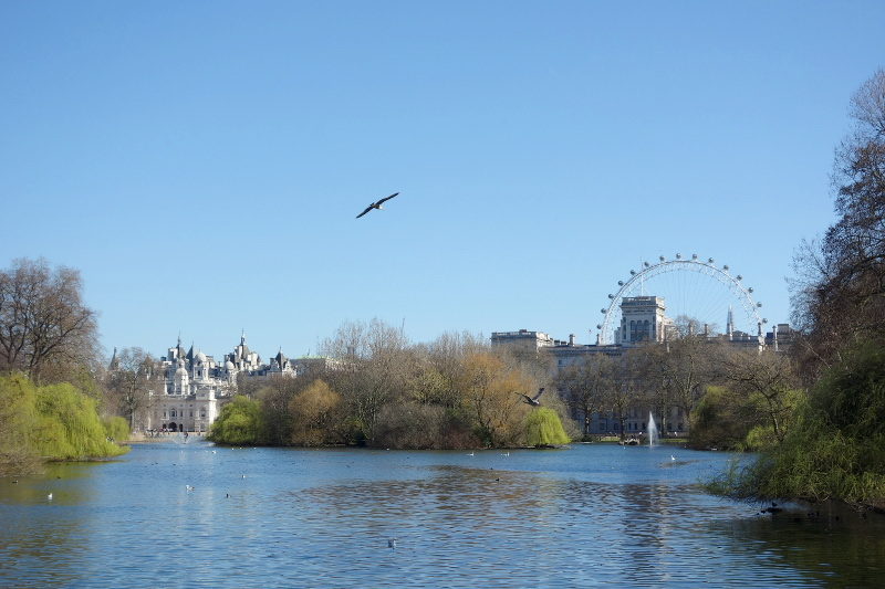 St Jame's Londres pont