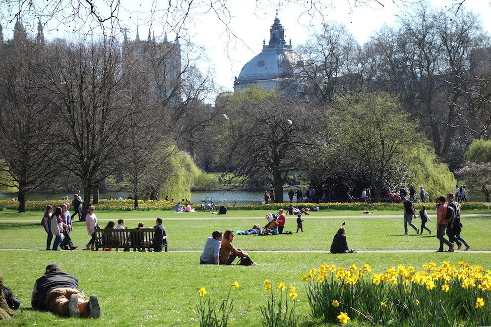 St Jame's Londres jardin