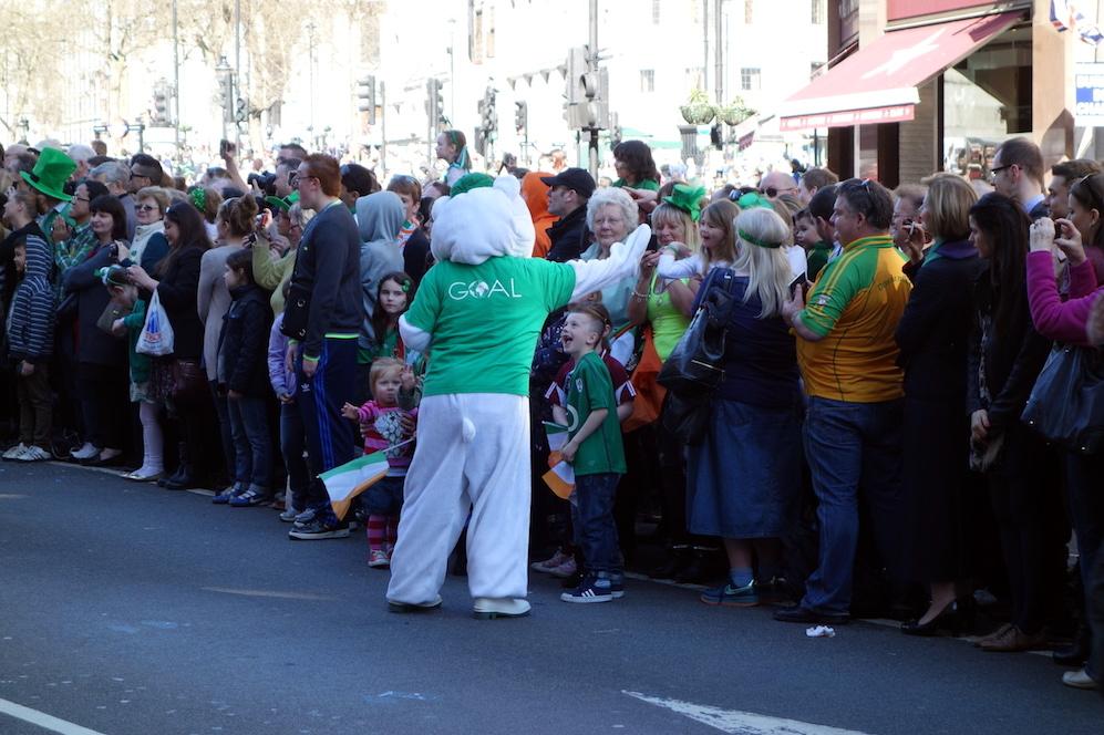 Londres défilé St Patrick check