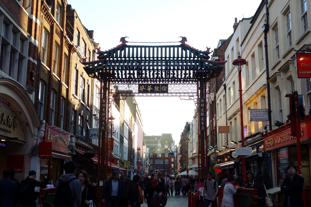 Londres Entree Chinatown