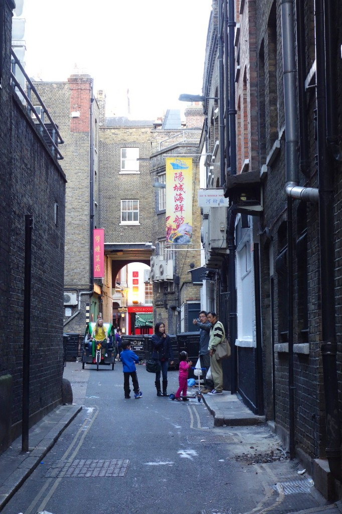Londres rue chinatown