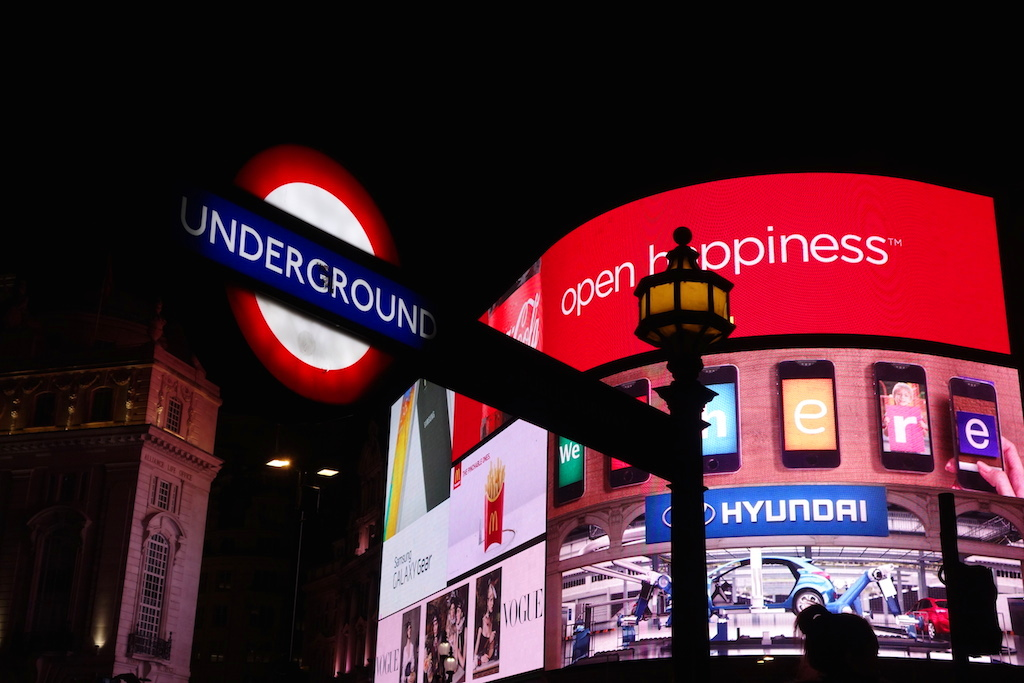 Londres Underground Piccadilly