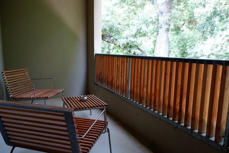 Chambre Moulin de Vernegues balcon