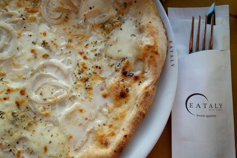 Eataly pizza