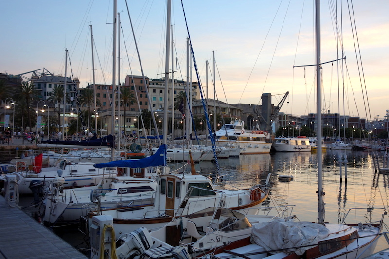 Gênes port