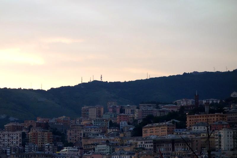 Vue sur Gênes