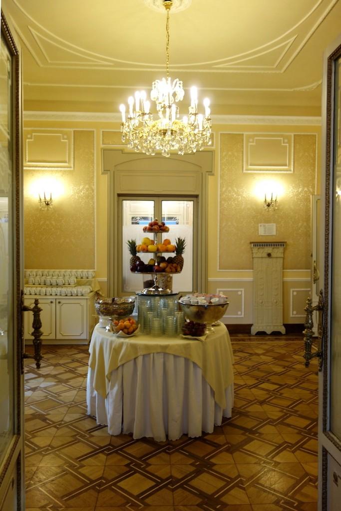 Petit Dejeuner Hotel Bristol Palace Gênes