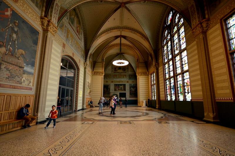 rijksmuseum couloirs