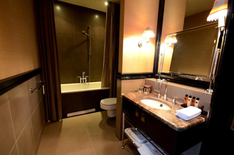 salle de bain the college hotel Amsterdam