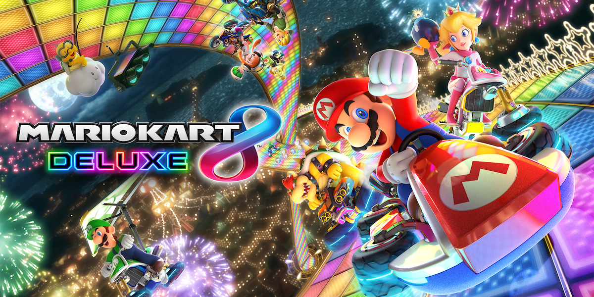 Test mario kart 8 deluxe Switch